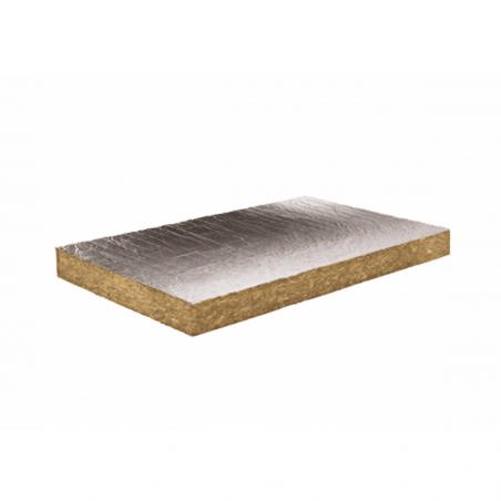 KNAUF INSULATION • NATURBOARD SILENCE ALU Pannello rigido isolante in lana minerale rivestito con...