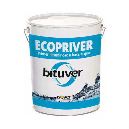 ISOVER • BITUVER ECOPRIVER Primer bituminoso costituito da bitume in emulsione acquosa e additivi