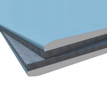 KNAUF • DIAMANT PHONO® Lastre Diamant accoppiate con pannello in fibra di poliestere (FPE)
