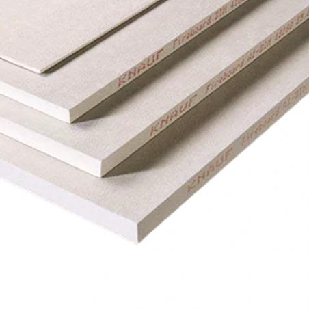 KNAUF • FIREBOARD Lastra in gesso e vermiculite rivestita con fibra di vetro