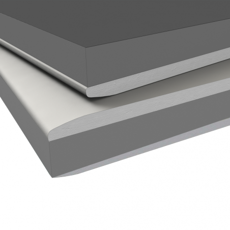 KNAUF • ISOLASTRA® PSE - G Lastra Knauf GKB (A) accoppiata con materiale isolante (PSE con grafite)
