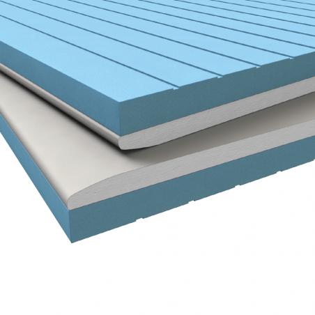 KNAUF • ISOLASTRA® XPS Lastra Knauf GKB (A) accoppiata con materiale isolante (XPS)
