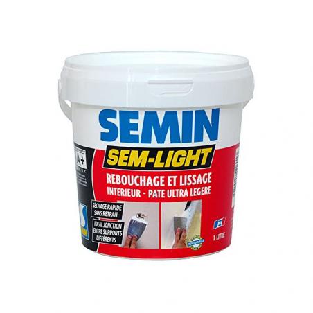 SEMIN • SEM-LIGHT Stucco in pasta ultraleggera di riempimento e finitura per interni