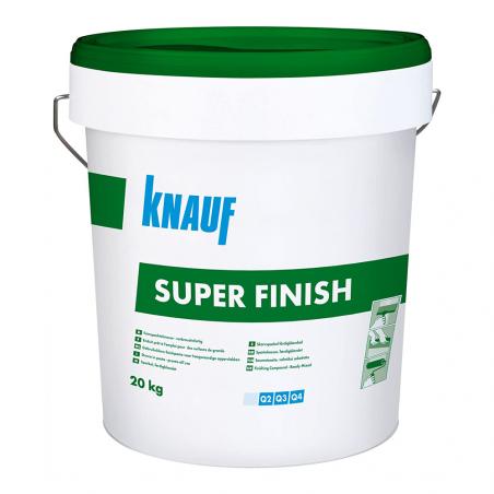 KNAUF • SUPER FINISH Stucco pronto in pasta per finitura dei giunti e la rasatura a superficie piena