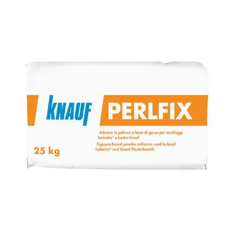 KNAUF • PERLFIX Adesivo in polvere a base gesso per incollaggio lastre ed isolastre Knauf