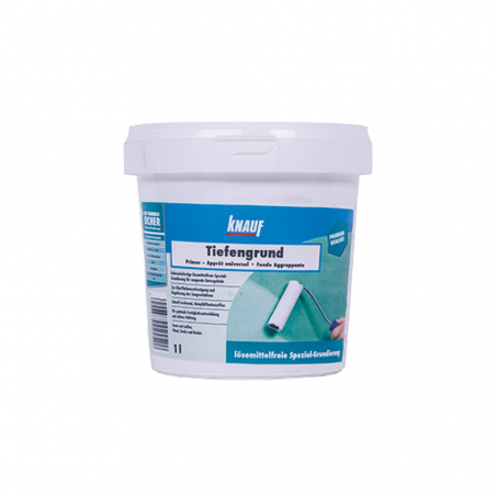 KNAUF • TIEFENGRUND Aggrappante con resina sintetica finissima in dispersione acquosa