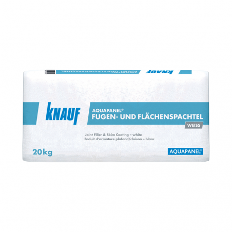 KNAUF • AQUAPANEL® JOINT FILLER & SKIM COATING WHITE Stucco per la sigillatura di lastra...