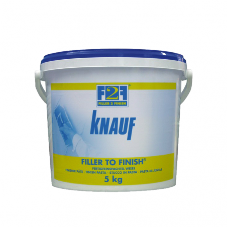 KNAUF • F2F FILLER TO FINISH Stucco in pasta pronto all'uso