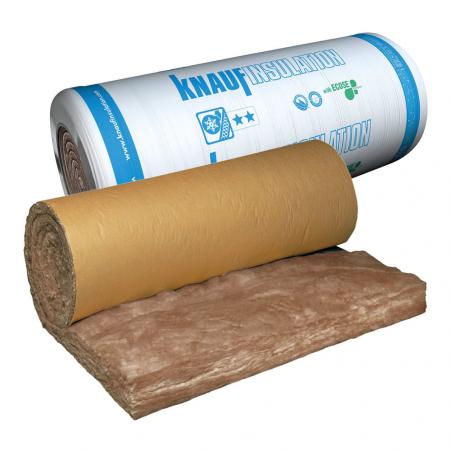 KNAUF INSULATION • TI 212 Rotolo isolante in lana minerale di vetro rivestito con carta Kraft su...