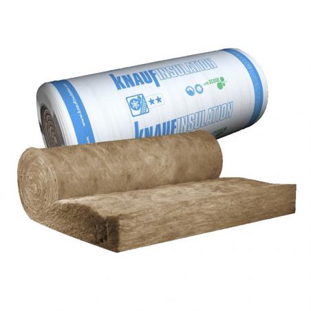 KNAUF INSULATION • KI FIT 040 Rotolo isolante in lana minerale di vetro senza rivestimento
