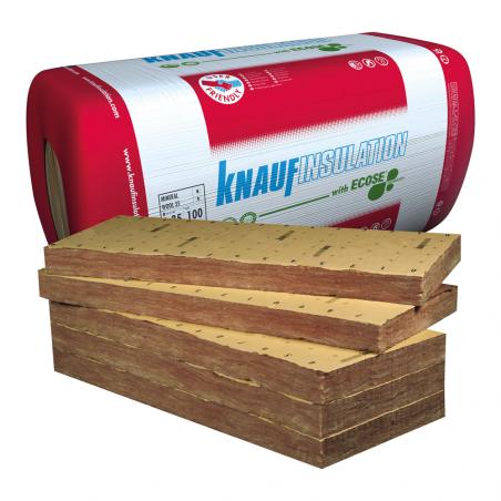 KNAUF INSULATION • MINERAL WOOL 32 K Pannello isolante in lana minerale rivestito con carta kraft...