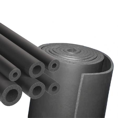 UNION FOAM • EUROBATEX® Tubi e lastre isolanti prodotti in elastomero estruso ed espanso (FEF)