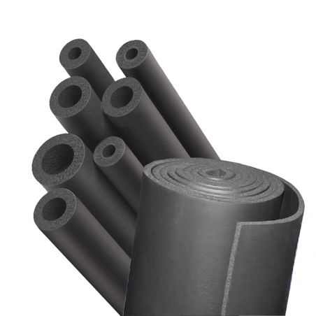 UNION FOAM • EUROBATEX® HF Tubi e lastre isolanti prodotti in elastomero estruso ed espanso (FEF)