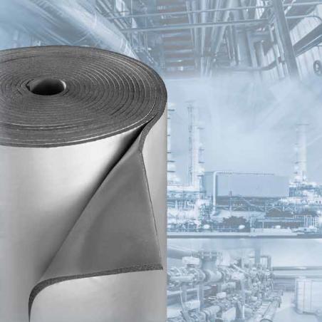 UNION FOAM • EUROBATEX® TRIPLEX Lastre isolanti in rotoli adesivi rivestite con TRIPLEX