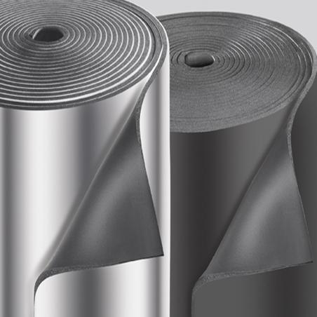 UNION FOAM • EUROBATEX® GLASTEC Tubi e lastre isolanti in rotoli con rivestimento in fibra...