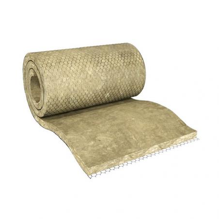 KNAUF INSULATION • POWER-TEK FM 620/ALU Feltro in lana minerale di roccia incombustibile