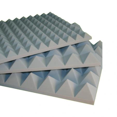 NDA • ISOTEK - STOP Pannello fonoassorbente in espanso BASOTECT® G+ a struttura piramidale