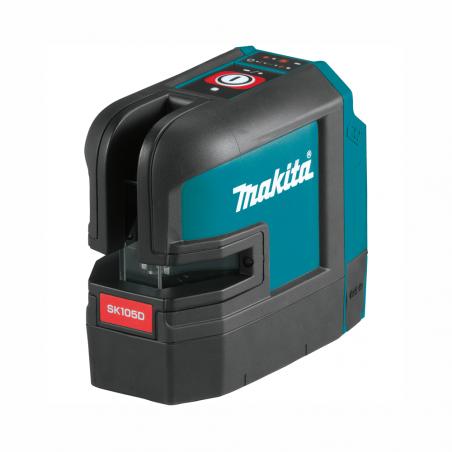 MAKITA • SK105DZ Tracciatore Laser 10,8V/12Vmax - 2 LINEE - ROSSO