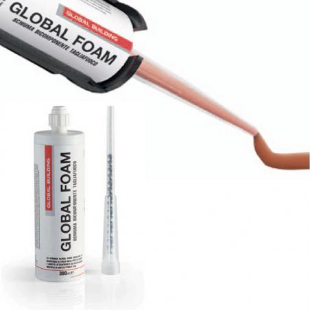 GLOBAL BUILDING • GLOBAL FOAM Schiuma bicomponente tagliafuoco