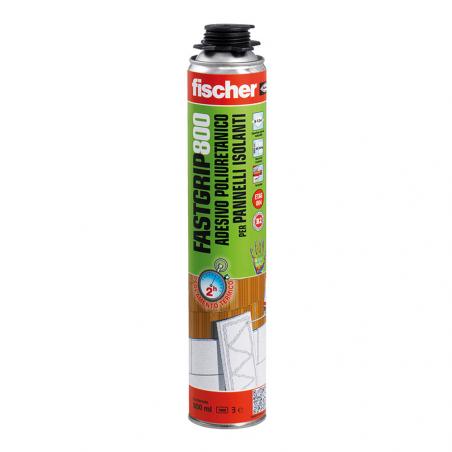 FISCHER • FASTGRIP 800 Adesivo poliuretanico per pannelli isolanti