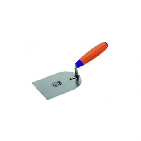 PAVAN • 980/I Cazzuolino in acciaio inox modello Svizzero punta quadra manico Sintesi