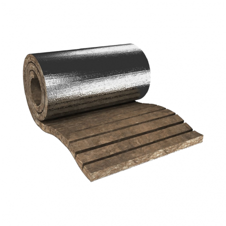 KNAUF INSULATION Lana minerale di roccia POWER-TEK LM 450 ALU