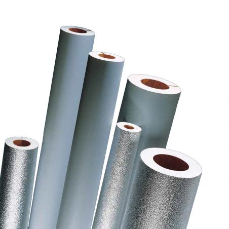ISOFOM • ISOPIÙ Coppelle e curve isolanti in poliuretano espanso con rivestimento esterno in PVC...