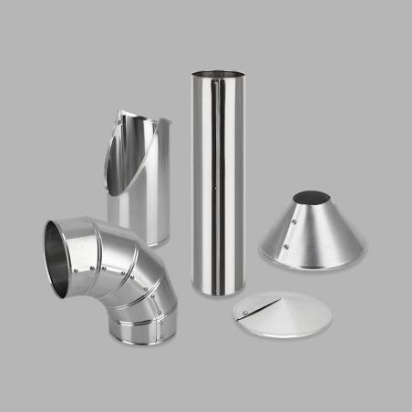 Particolari in lamiera di alluminio