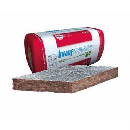 KNAUF INSULATION • MINERAL WOOL 32 ALU Pannello isolante in lana minerale rivestito con carta...