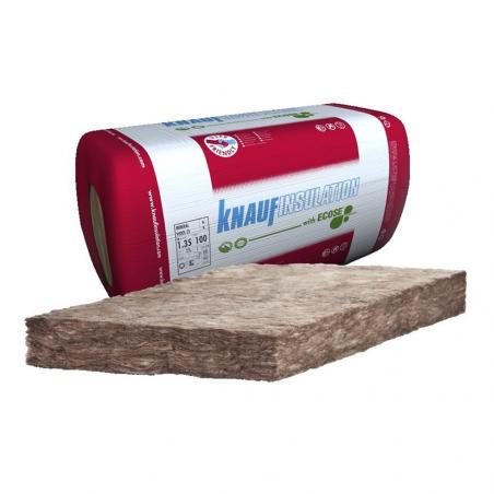 KNAUF INSULATION • MINERAL WOOL 35 Pannello isolante in lana minerale di vetro senza rivestimento